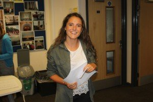 Josie Holding will study Geography at Reading University