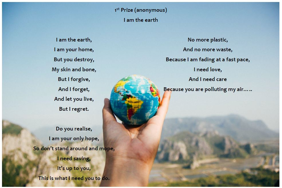 Climate Change Poetry - 1st Prize