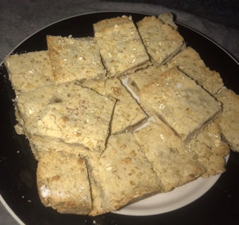 Crumbly squares
