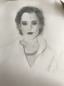 Evie Lunn drawing