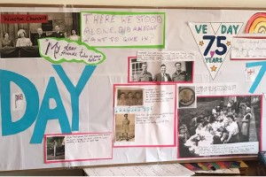M Gill VE Day 1