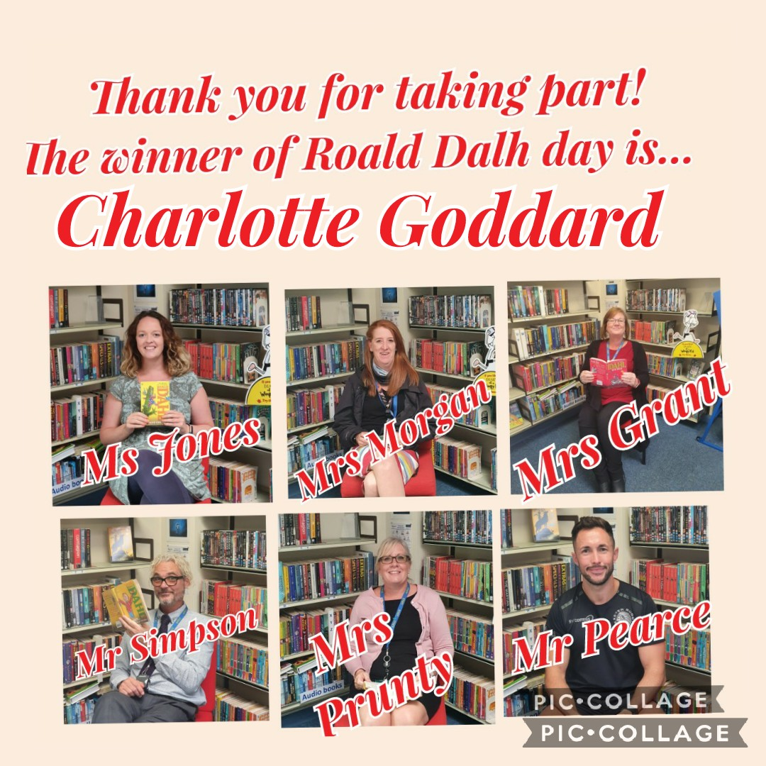Roald Dahl Library Competition Results