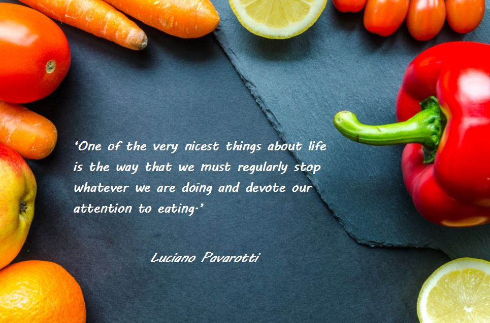Food & Nutrition image & quote