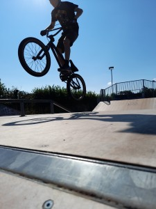 'BMXing' by Lewis