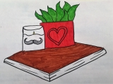 Plant-candle-book